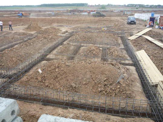Строим дом: строительство фундамента